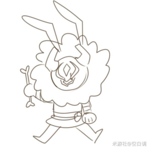 原神简笔图