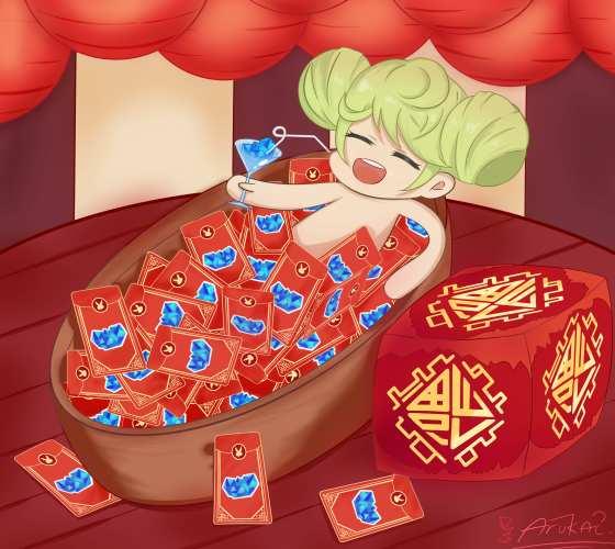 你看这只包菜她笑得多开心呀