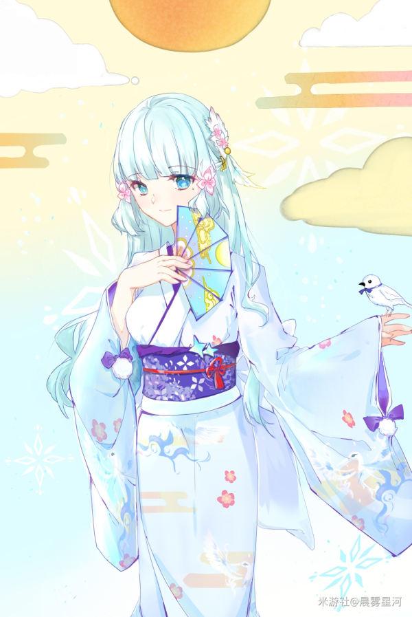 【新春贺图】白鹭公主