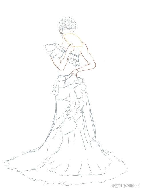 [陆景和]女装。草稿中