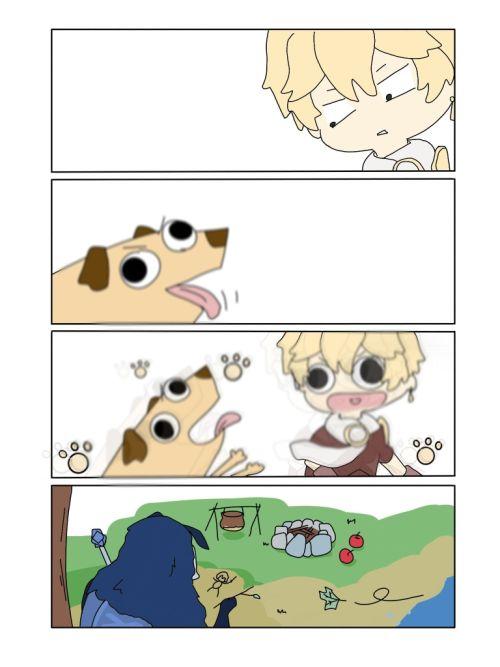 「原神梦服」四格漫画NO.19