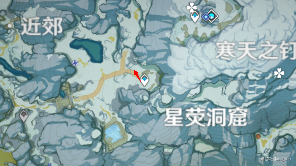 原神雪山三个匣子最终藏宝密室视频 雪山最终宝藏密室解锁打开方法[多图]图片6
